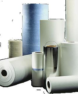 filterpapir og filterdug